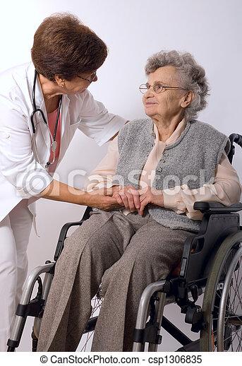 médico, examen - csp1306835