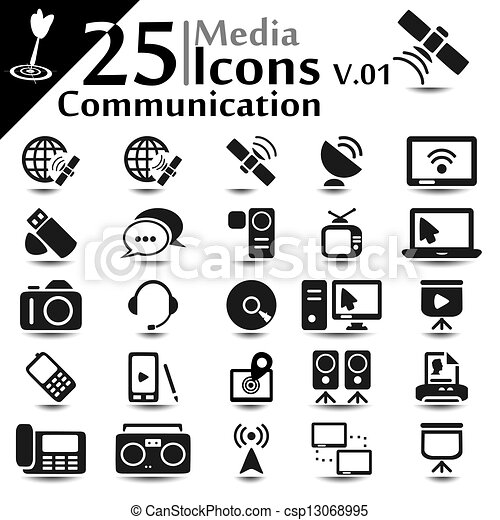 Communication Icons v.01 - csp13068995