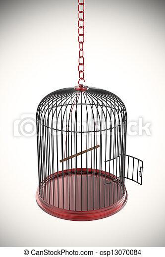 Open bird cage - csp13070084