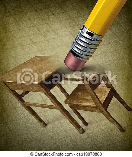 Fixing Education - csp13070860