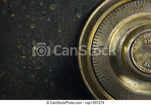 Antique Safe - csp1307274