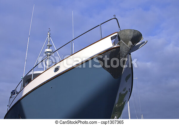 Boat from Below - csp1307365