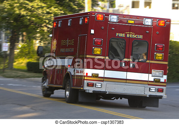 Rescue Vehicle En Route