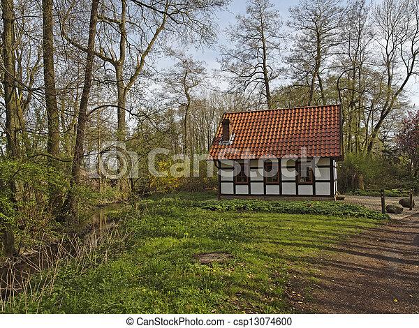 Gellenbecker mill in Germany - csp13074600
