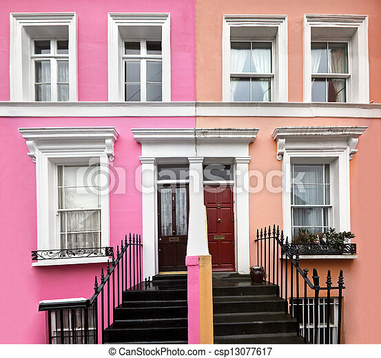 London residential architecture - csp13077617