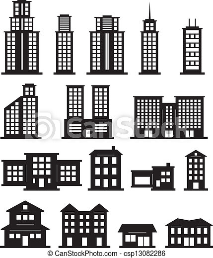 Apartment Building Graphic graphics for building black and white graphics | www.graphicsbuzz