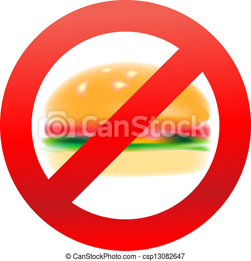 Unhealthy Foods Drawing Unhealthy Food Hamburger