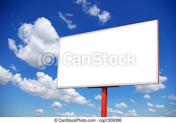 billboard - csp1309386