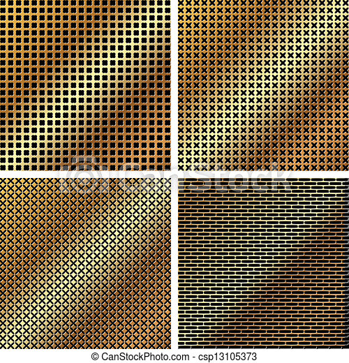A set of metal grille 2 - csp13105373