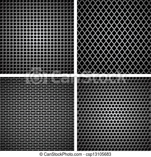 A set of metal grille - csp13105683