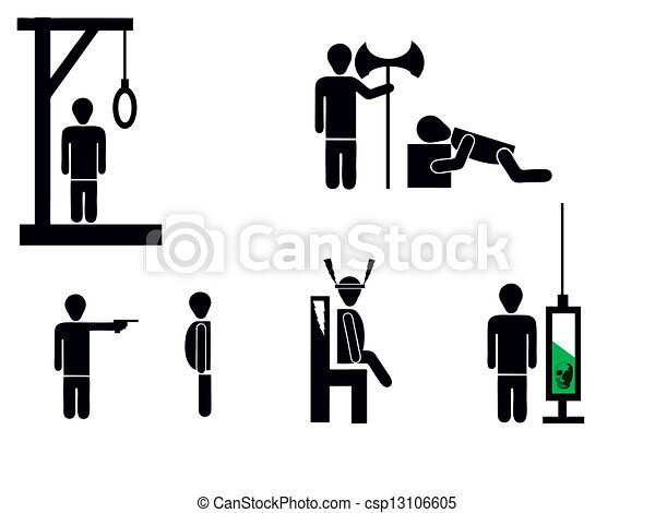 Death penalty Illustrations and Clipart. 310 Death penalty royalty ...
