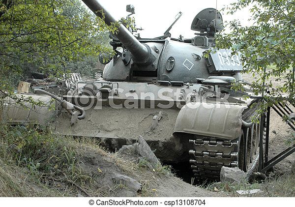 Military Tank - csp13108704