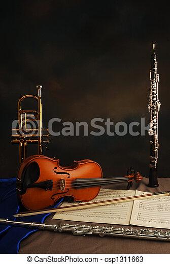 kammare, musik - csp1311663