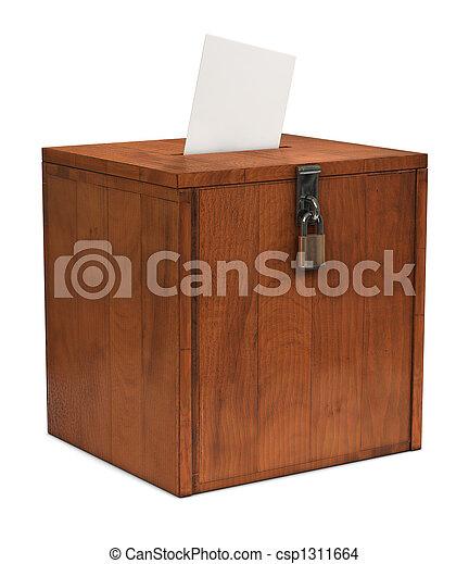 Ballot Box - csp1311664