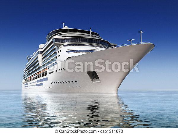 Skepp, kryssning - csp1311678
