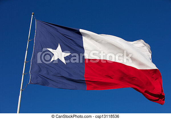 State Flag of Texas - csp13118536