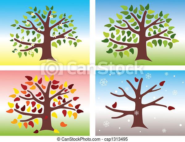 Four Seasons - csp1313495