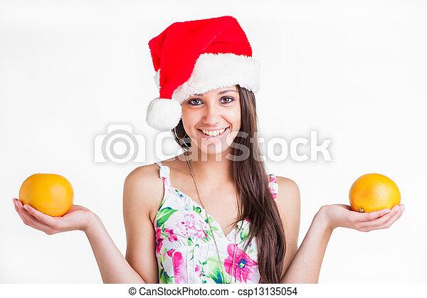cabeza, pomelos, hands., hoodie - csp13135054