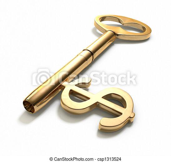 Key to Success - csp1313524
