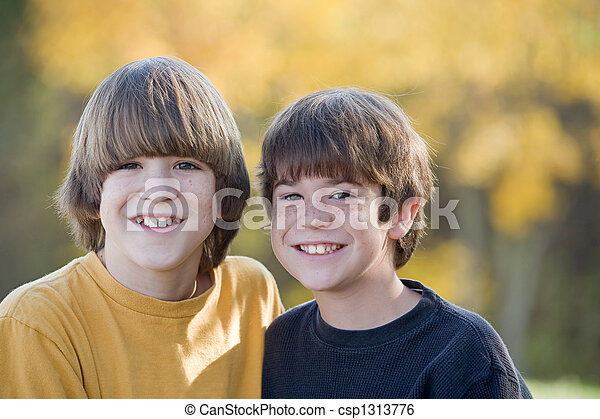 Brothers in the Fall - csp1313776