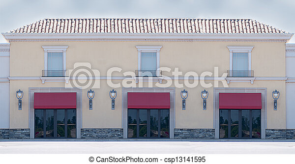 Office or Retail Building - csp13141595