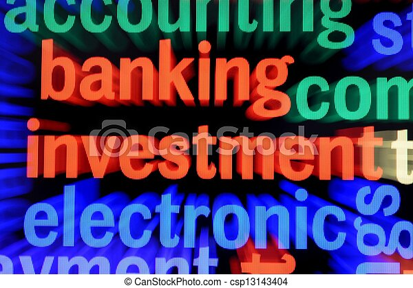 Banking and investment concept - csp13143404