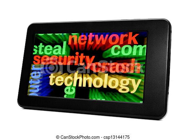 sicurezza, rete - csp13144175