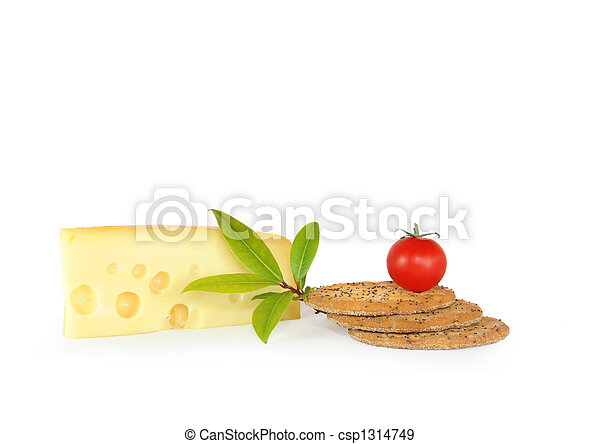 Cheese and Biscuits Snack Food - csp1314749