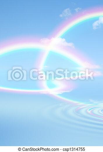 Rainbow Beauty - csp1314755