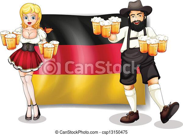 hombre de alemania: