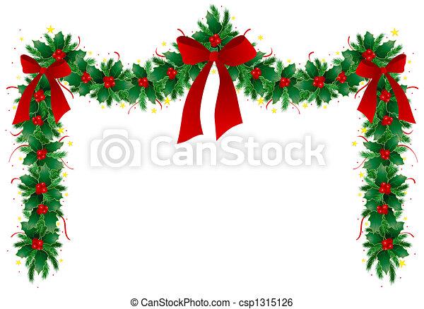 stock illustration von weihnachten girlande abbildung von weihnachten csp1315126. Black Bedroom Furniture Sets. Home Design Ideas
