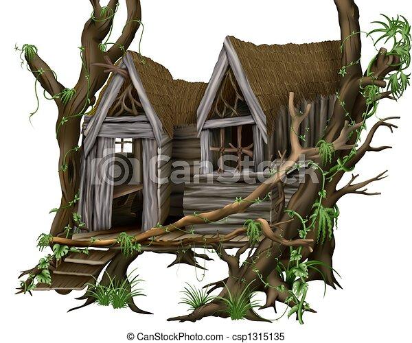 Jungle Hut - csp1315135