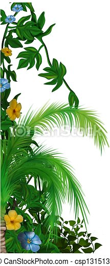Jungle vegetation - csp1315136