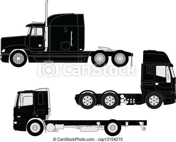 Truck outline Illustrations and Clip Art. 5,070 Truck outline ...