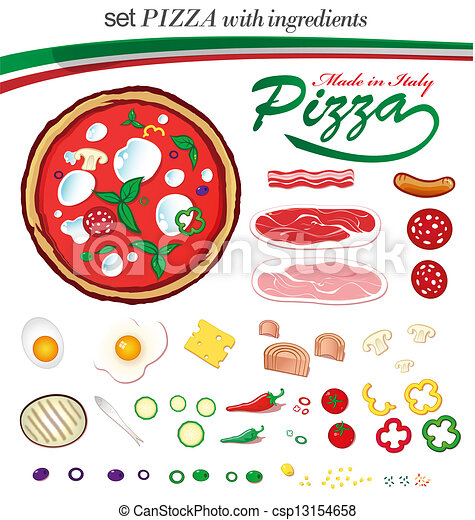 Pizza ingredientes