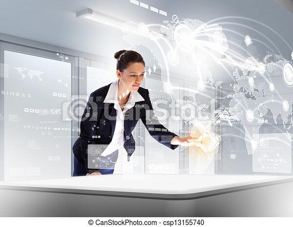 Business communications - csp13155740