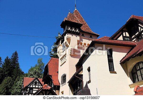 Landmark in Romania - csp13156607