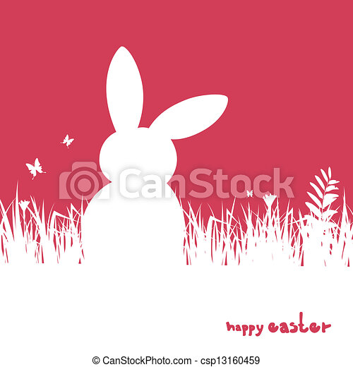 Vector Easter Background - csp13160459