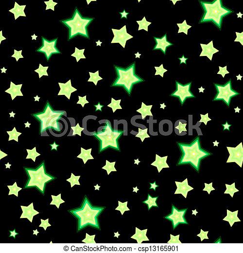 Etoile fluorescente