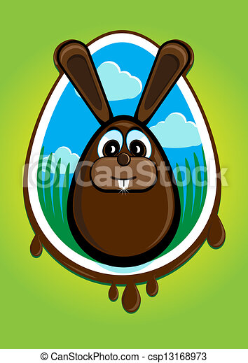 Summarizing Clipart Illustration summarizing the easter bunny and ...