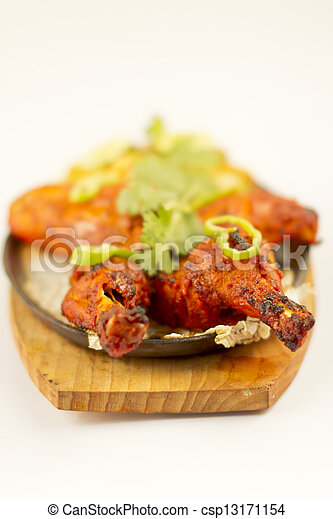 Indian Food Chicken Tandori - csp13171154