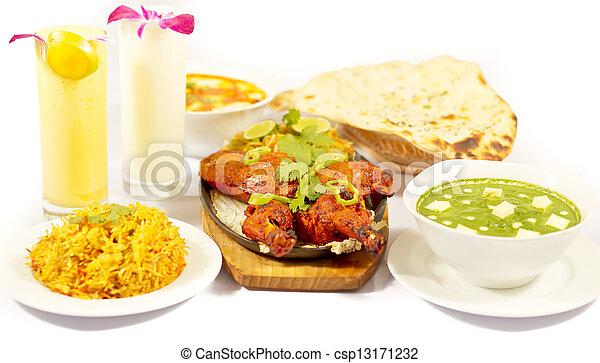 Indian Food Chicken Tandori - csp13171232