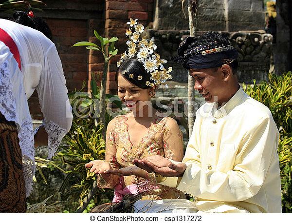 Indonesian wedding - csp1317272
