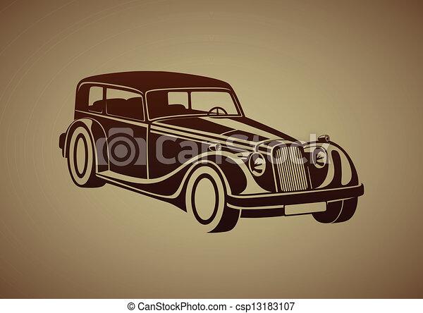 Sport classic automobile - csp13183107