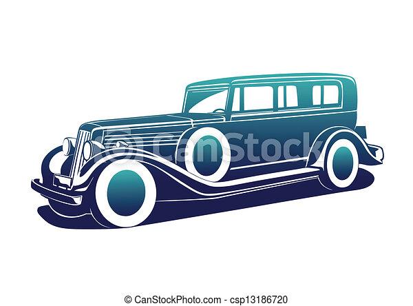 Classic automobile - csp13186720
