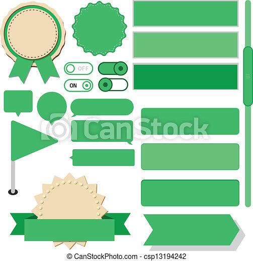 Eps vektor von wohnung web design elemente vektor for Meine wohnung click design download