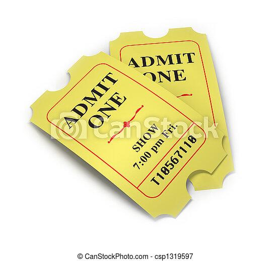 Movie Tickets - csp1319597