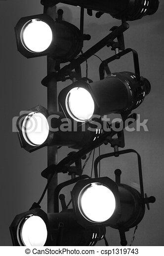 Stage Lights - csp1319743