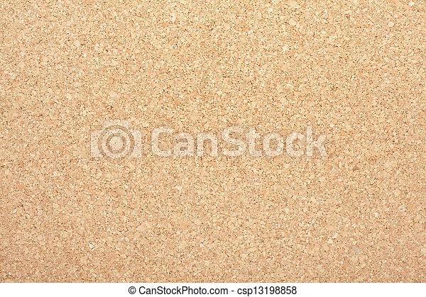 Cork seamless texture background - csp13198858