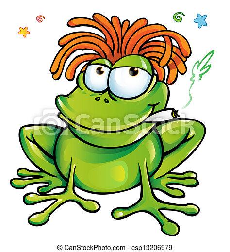 Vector - rasta, rana, caricatura - stock de ilustracion, ilustracion ... Cool Rasta Lion Pictures
